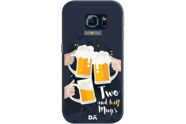 Beer 2.5 Mugs Clink Case For Samsung Galaxy S6 Edge