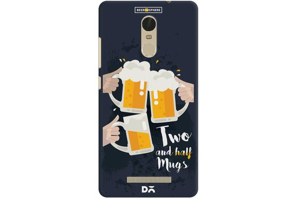 Beer 2.5 Mugs Clink Case For Xiaomi Redmi Note 3