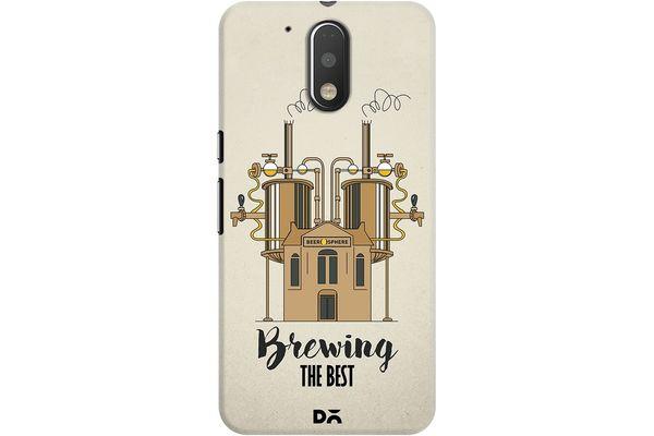Beer Brewing The Best Case For Motorola Moto G4/Moto G4 Plus