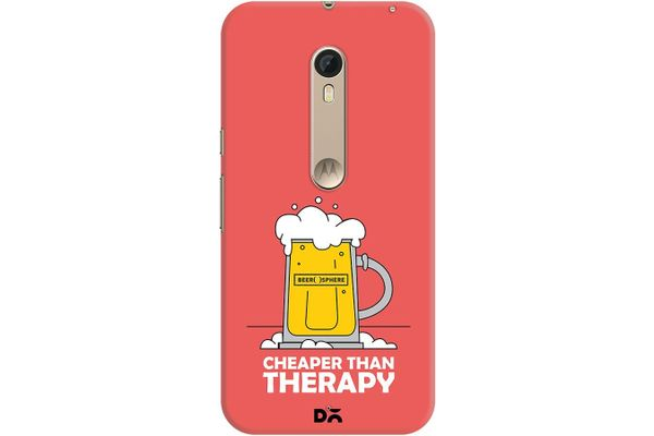 Beer Cheap Therapy Case For Motorola Moto X Style