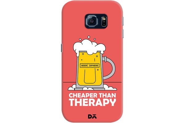 Beer Cheap Therapy Case For Samsung Galaxy S6 Edge