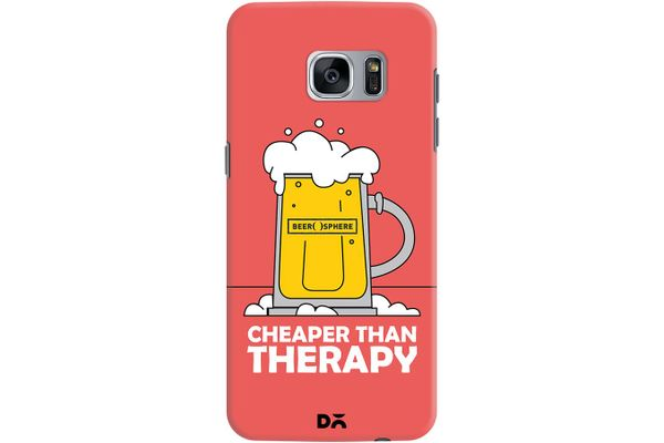 Beer Cheap Therapy Case For Samsung Galaxy S7 Edge