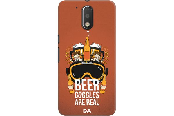 Beer Goggles Real Case For Motorola Moto G4/Moto G4 Plus