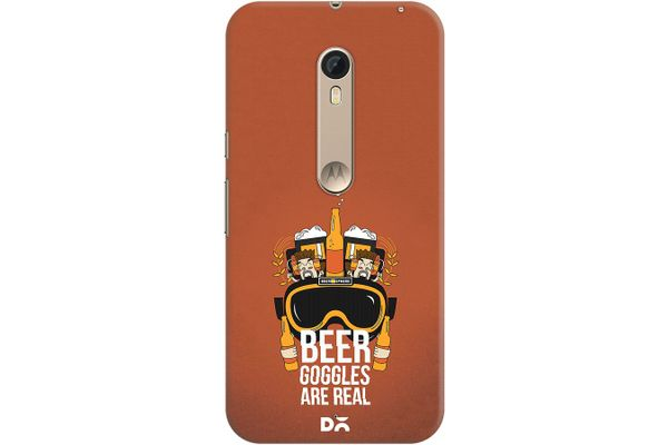 Beer Goggles Real Case For Motorola Moto X Style