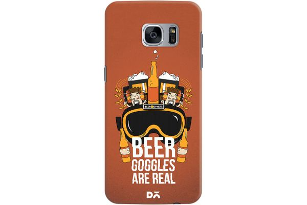 Beer Goggles Real Case For Samsung Galaxy S7 Edge