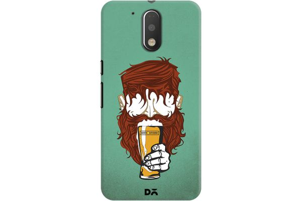 Beer Sphere Beard Case For Motorola Moto G4/Moto G4 Plus