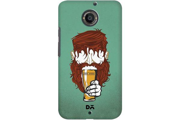 Beer Sphere Beard Case For Motorola Moto X2