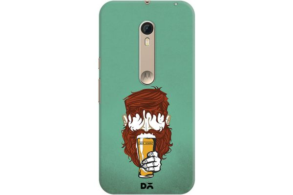 Beer Sphere Beard Case For Motorola Moto X Style