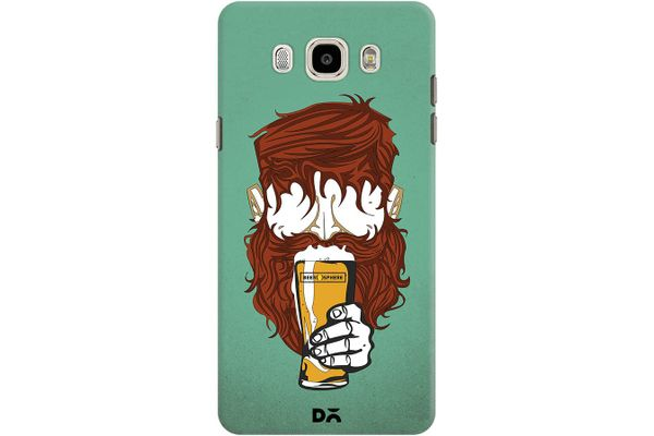 Beer Sphere Beard Case For Samsung Galaxy J7 2016 Edition