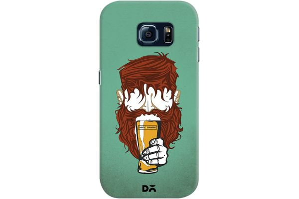 Beer Sphere Beard Case For Samsung Galaxy S6 Edge