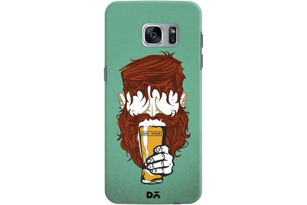 Beer Sphere Beard Case For Samsung Galaxy S7 Edge