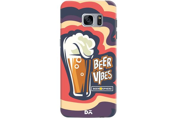 Dizzy Beer Vibes Case For Samsung Galaxy S7 Edge