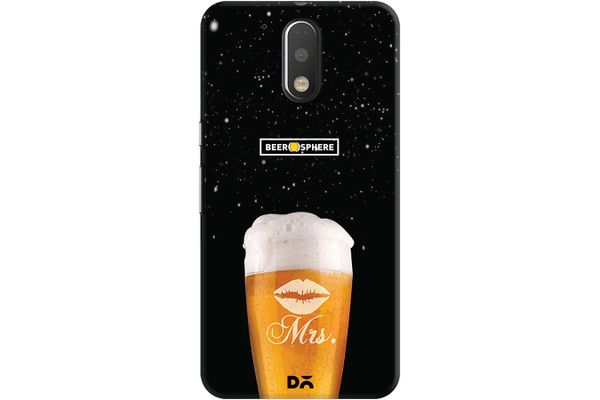 Mrs. Beer Galaxy Case For Motorola Moto G4/Moto G4 Plus