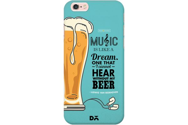 No Beer No Hear Case For iPhone 6S
