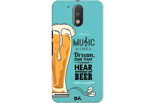 No Beer No Hear Case For Motorola Moto G4/Moto G4 Plus