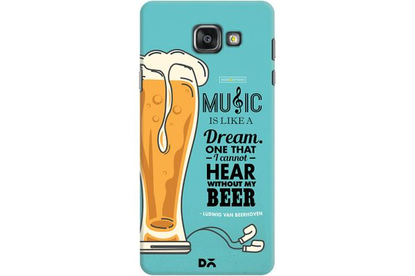 No Beer No Hear Case For Samsung Galaxy A7 2016 Edition