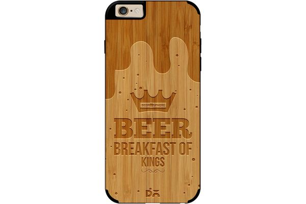 Beer BoK Real Wood Bamboo Case For iPhone 6