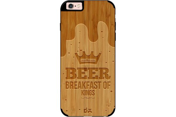 Beer BoK Real Wood Bamboo Case For iPhone 6S