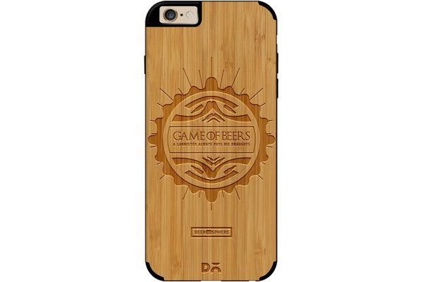 Beer GoT Real Wood Bamboo Case For iPhone 6