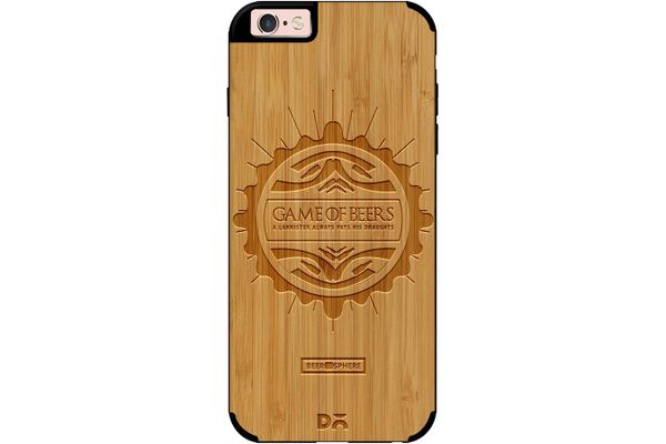 Beer GoT Real Wood Bamboo Case For iPhone 6S