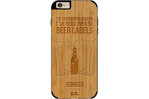 Beer Labels Real Wood Bamboo Case For iPhone 6