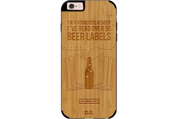 Beer Labels Real Wood Bamboo Case For iPhone 6S