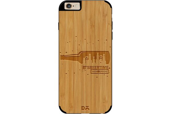 Beer O'Clock Real Wood Bamboo Case For iPhone 6