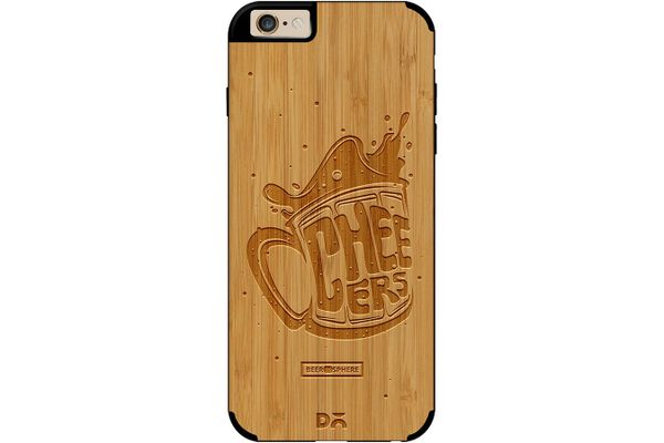 Life is BREWtiful Real Wood Bamboo Case For iPhone 6