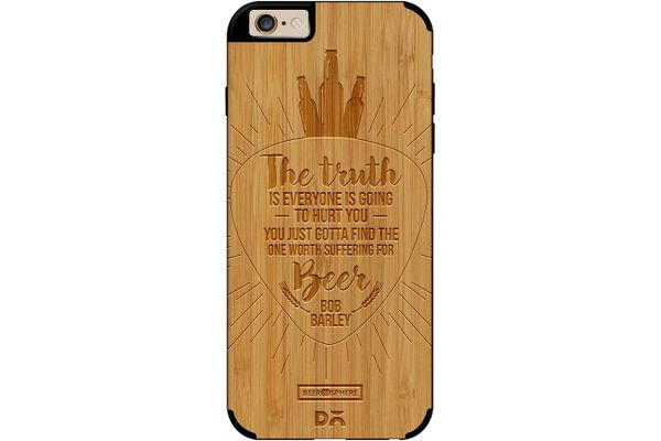 Truth Is Beer Real Wood Bamboo Case For iPhone 6