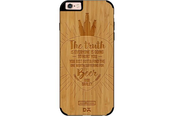 Truth Is Beer Real Wood Bamboo Case For iPhone 6S
