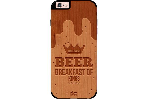 Beer BoK Real Wood Cherry Case For iPhone 6S