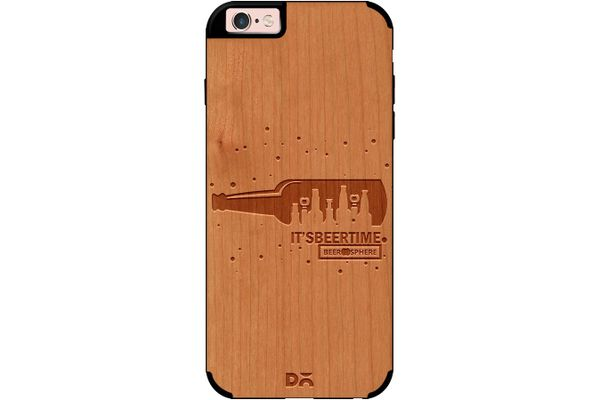 Beer O'Clock Real Wood Cherry Case For iPhone 6S