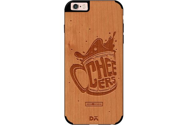 Life is BREWtiful Real Wood Cherry Case For iPhone 6S