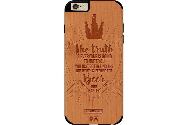 Truth Is Beer Real Wood Cherry Case For iPhone 6
