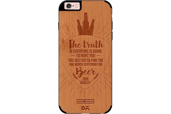Truth Is Beer Real Wood Cherry Case For iPhone 6S