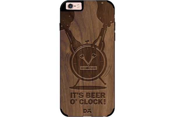 Beer O'Clock Froth Real Wood Maple Case For iPhone 6S