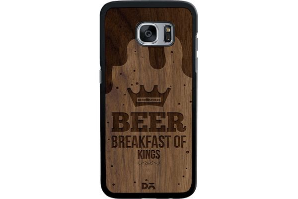 Beer BoK Real Wood Maple Case For Samsung Galaxy S7 Edge
