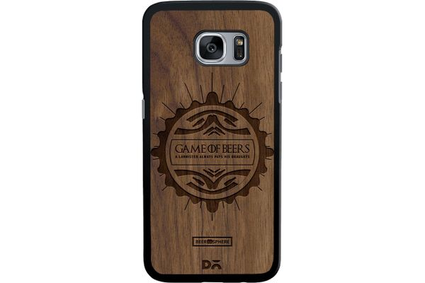 Beer GoT Real Wood Maple Case For Samsung Galaxy S7 Edge