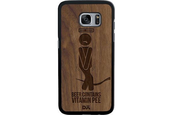 Beer Pressure Real Wood Maple Case For Samsung Galaxy S7 Edge