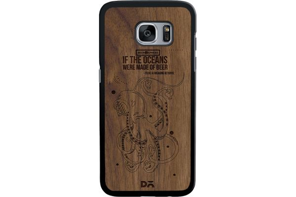 Beer topus Real Wood Maple Case For Samsung Galaxy S7 Edge