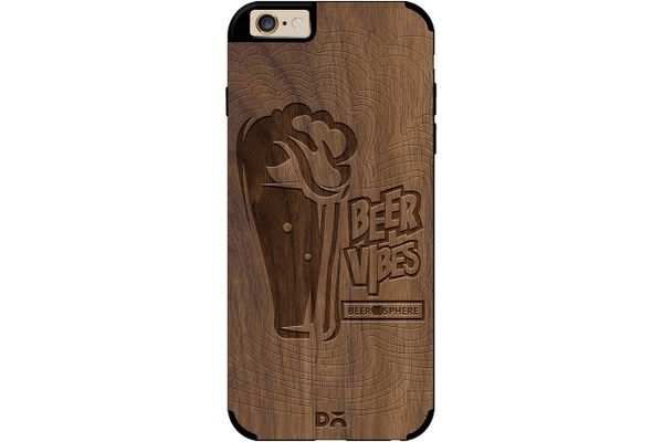 Dizzy Beer Vibes Real Wood Maple Case For iPhone 6