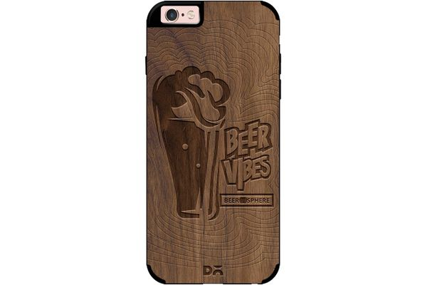 Dizzy Beer Vibes Real Wood Maple Case For iPhone 6S