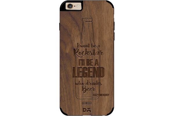 Legends of Beer Real Wood Maple Case For iPhone 6