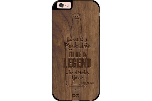 Legends of Beer Real Wood Maple Case For iPhone 6S