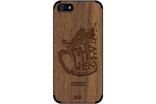 Life is BREWtiful Real Wood Maple Case For iPhone 5/5S