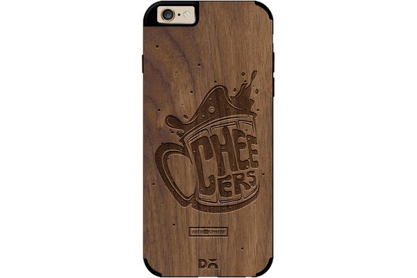 Life is BREWtiful Real Wood Maple Case For iPhone 6