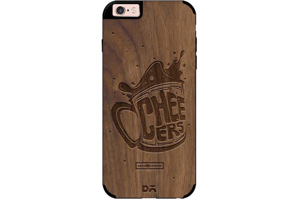 Life is BREWtiful Real Wood Maple Case For iPhone 6S