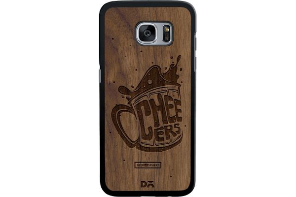 Life is BREWtiful Real Wood Maple Case For Samsung Galaxy S7 Edge