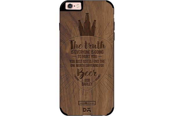 Truth Is Beer Real Wood Maple Case For iPhone 6S