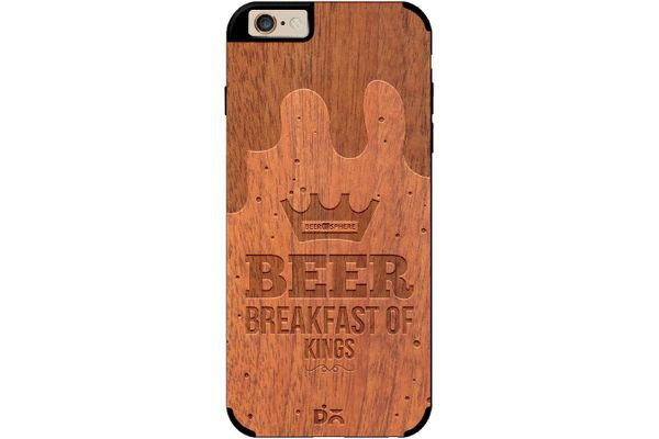 Beer BoK Real Wood Sapele Case For iPhone 6